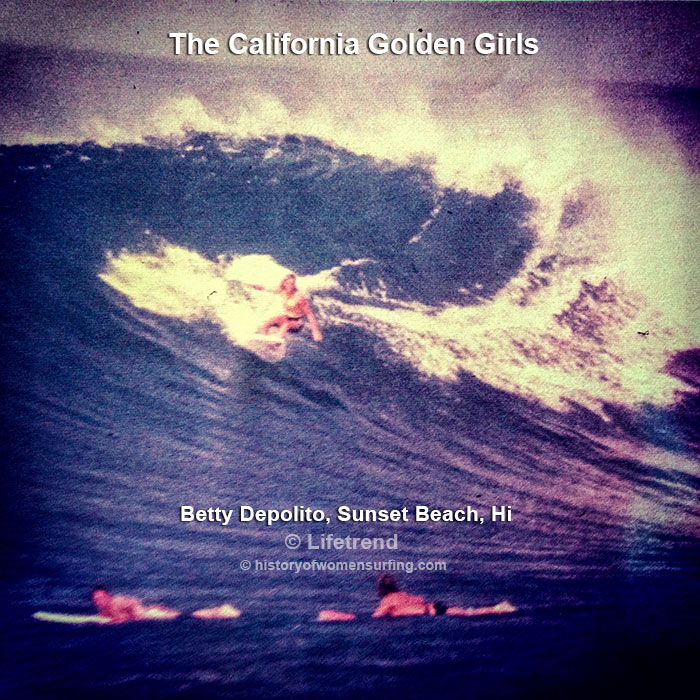 California Golden Girl Betty Depolito