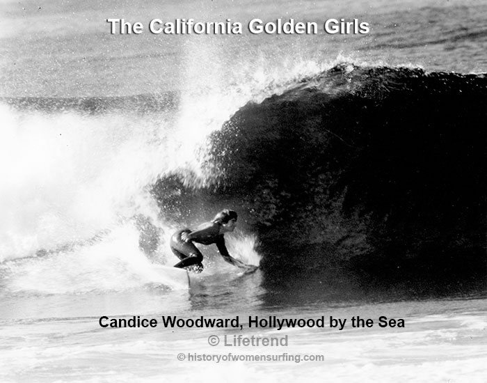 California Golden Girl Candice Woodward