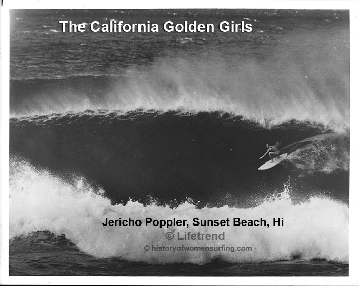 California Golden Girl Jericho Poppler