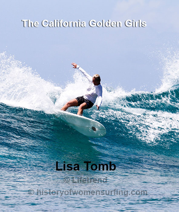 California Golden Girl Lisa Tomb