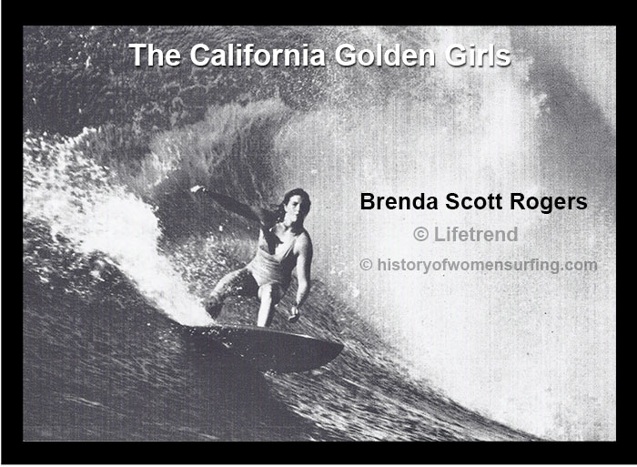 Golden Girl Brenda Scott-Rogers